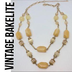 Bakelite Jewelry - Vintage Bakelite necklace